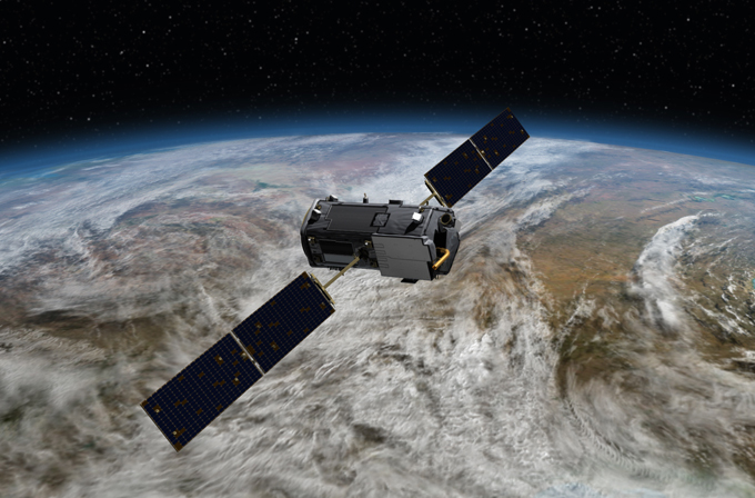 NASA OCO2 satellite
