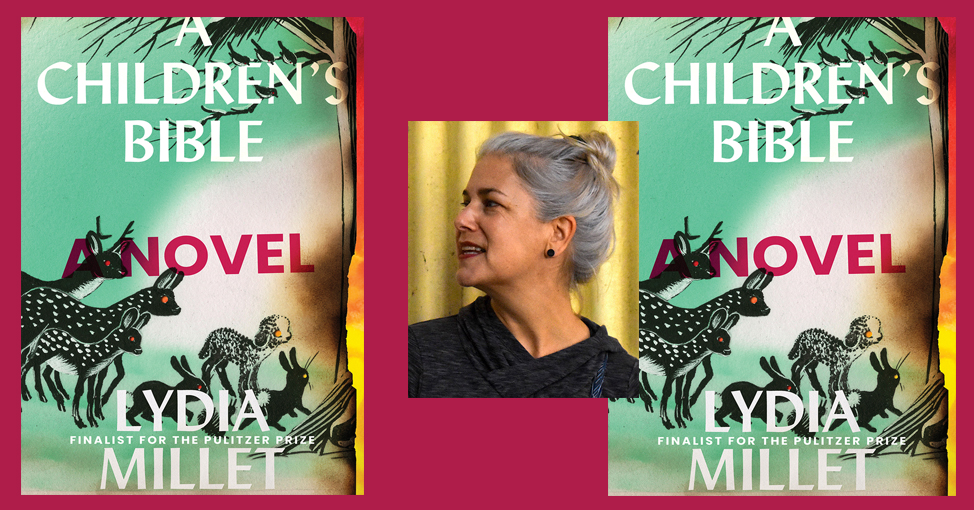 Lydia Millet and book cover