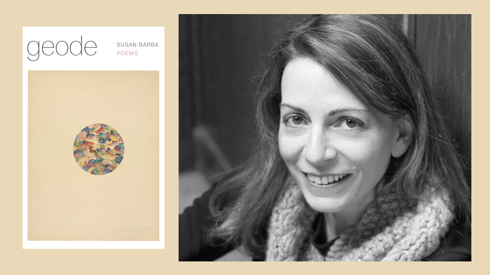 Susan Barba and book cover
