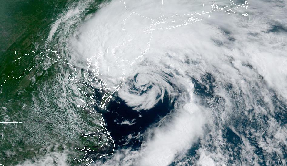 Satellite image of Fay