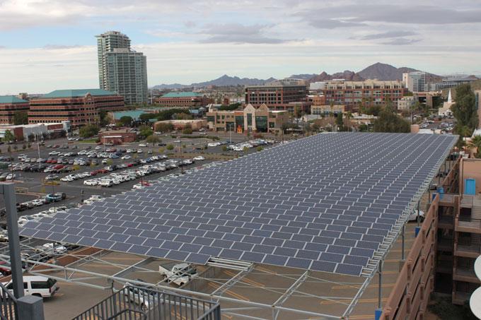 Arizona State U solar