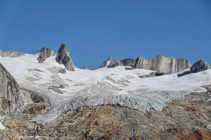Glacier retreaet