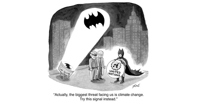 Tom Toro UN Climate Summit cartoon