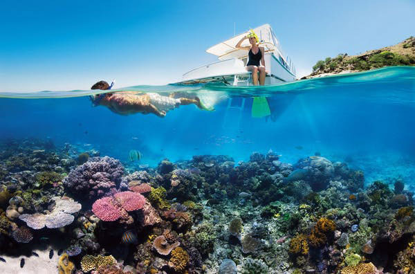 Tourism at the reef