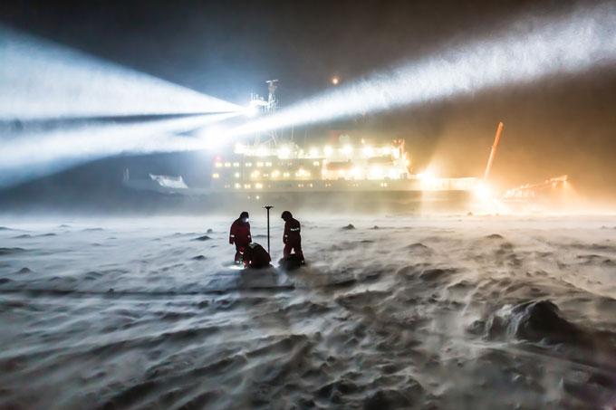 Polarstern icebreaker