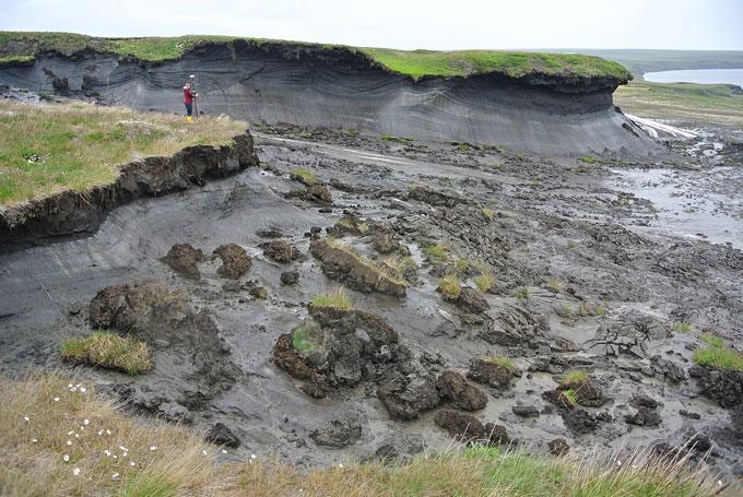 Herschel Island permafrost