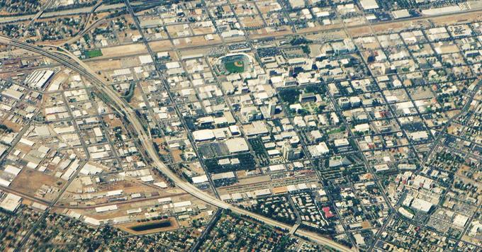 Fresno aerial