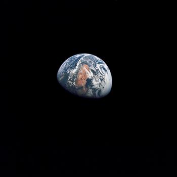 Apollo 10 view of Earth