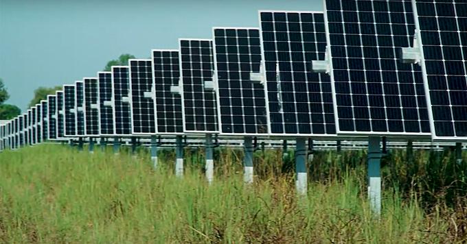 Fayetteville solar array