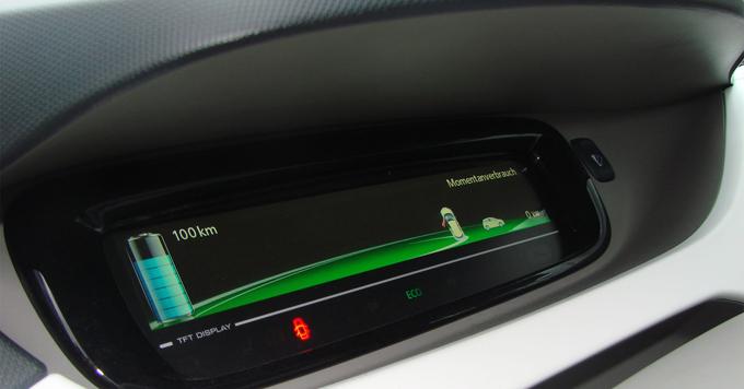 EV dashboard