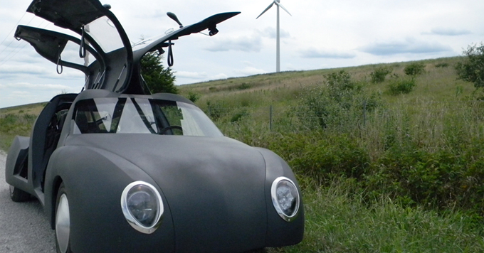The prototype car
