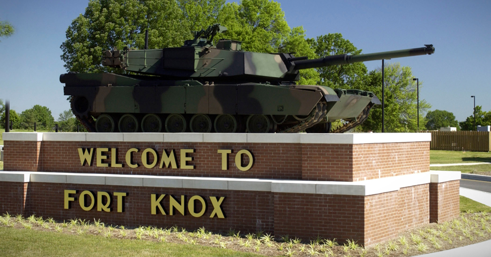 Fort Knox entrance