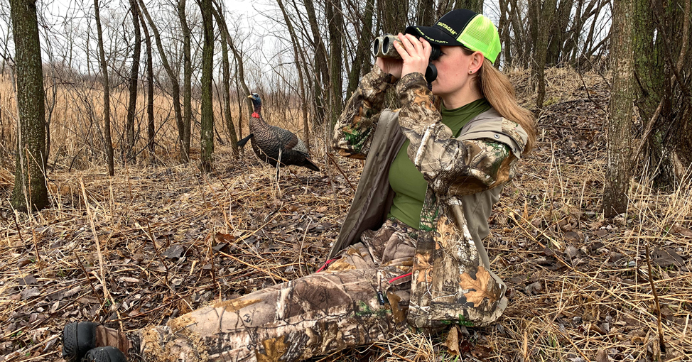 Woman hunter