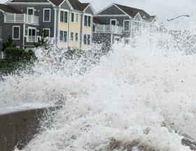 Coastal storm surge