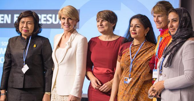 UN women's event photo