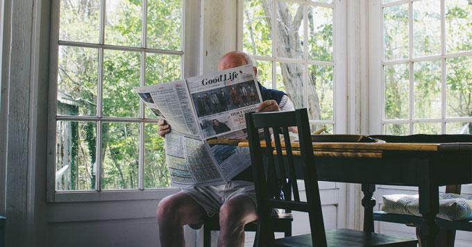 Reading good life news