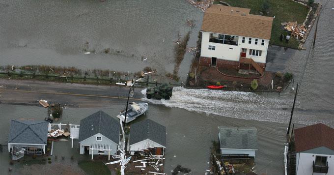 Connecticut coastal flooding