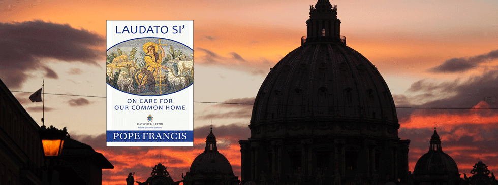Basilica and pope encyclical book cover