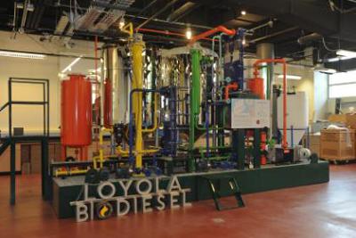 Loyola clean energy lab