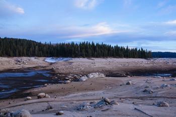 Reservoir in California's Sierra Nevada