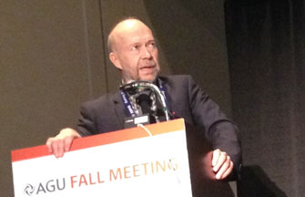 James Hansen at AGU