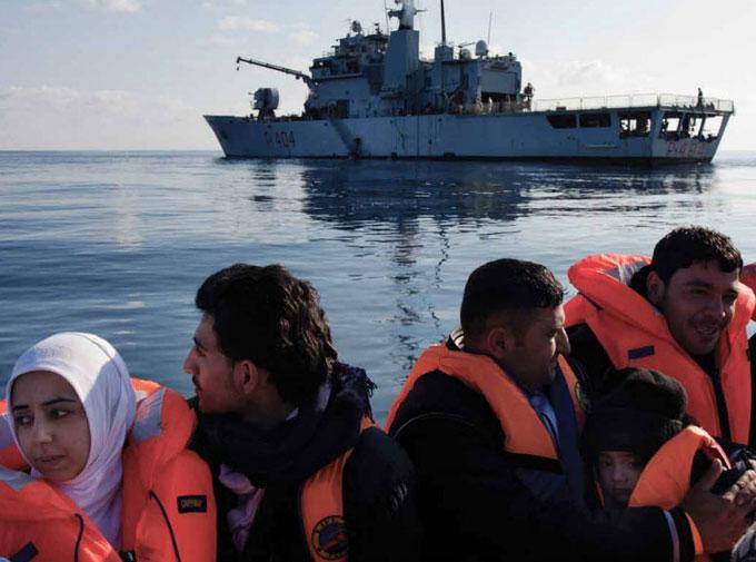 Syrian refugees 2014