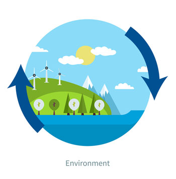 Environment graphic