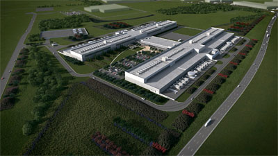 Facebook data center in Ft. Worth