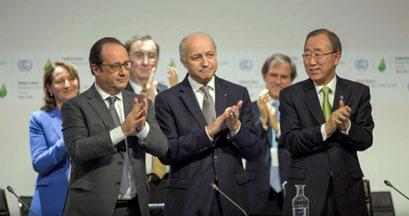 Paris talks 2015 signatories