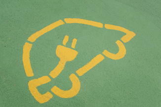 Electric vehicle graphic