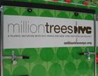 Million trees banner