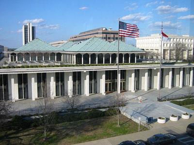North Carolina legislature building