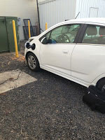 Chevy Spark charging up