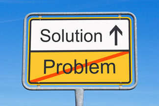 Problem solution graphic