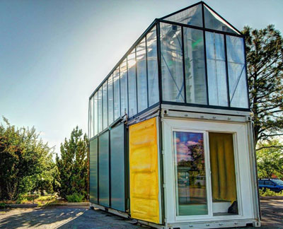 Turning Shipping Containers Into Gardens 187 Yale Climate