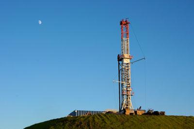 Natural gas drill