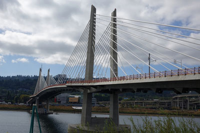 Tilikum Crossing Bridge