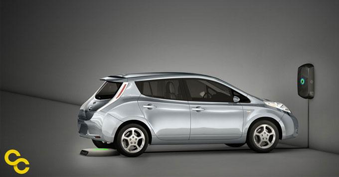 Evatran cordless EV charger