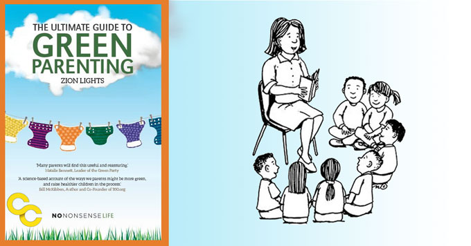 Zion Lights book cover and image on parenting