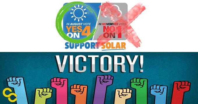 Solar amendment victory graphic