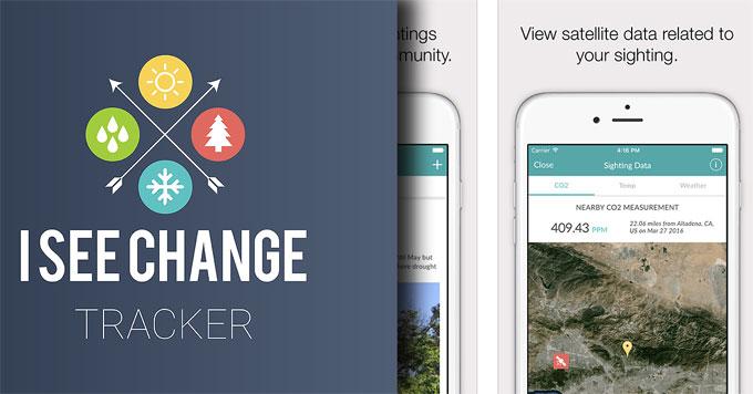 iSeeChange tracker image