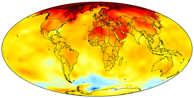 Worrisome first quarter of 2017 climate trends - Yale Climate Connections