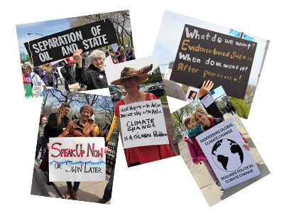 Postcard from the marches graphic