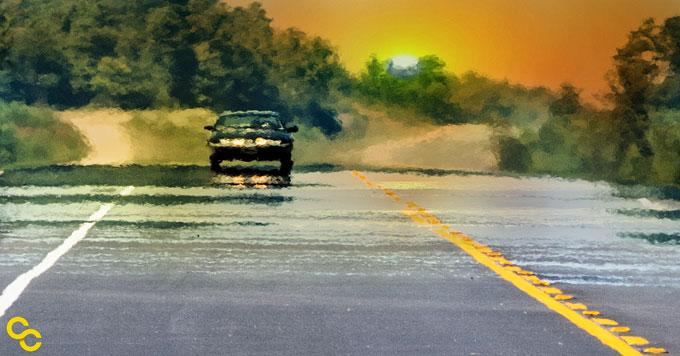 Roadway heatwaves