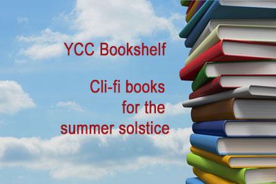Cli-fi bookshelf