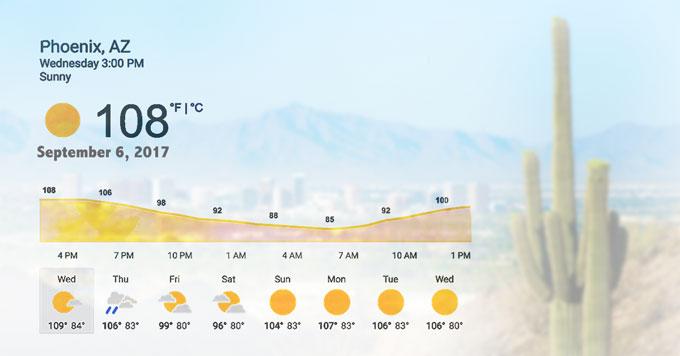 Phoenix weather image
