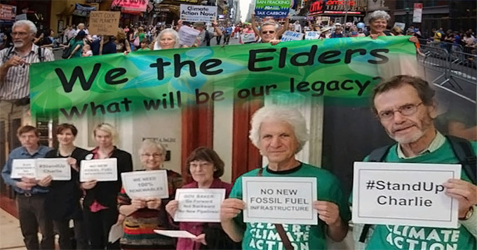 Elders Climate Action collage