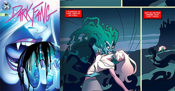 Dark Fang comic artwork