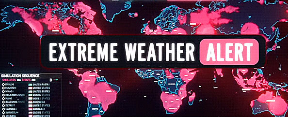 Geostorm extreme weather alert