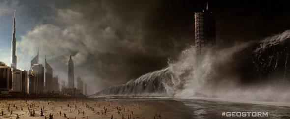 Geostorm tsunami